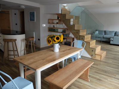 Photo for A stylish boutique apartment in the heart of Whitstable's famous Harbour Street!