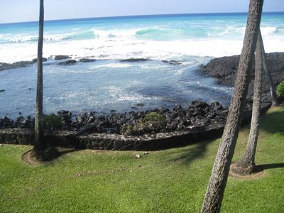 Turtle (Honu) Hangout Natural Rock Pool Directly in Front of Unit 219's lanai.