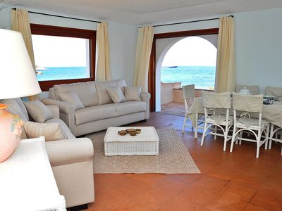 Photo for Holiday Apartment in Direct Beach Location with Balcony with Sea View; Parking Available