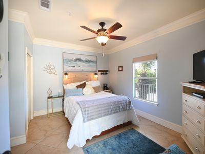 """Photo for Scenic Second-Story Corner Condo Steps From the Beach """"MERMAID POINTE"""""""