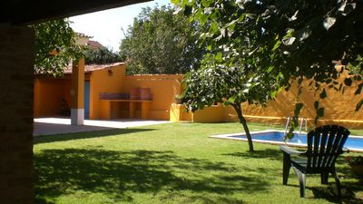 Photo for Converted cottage in a typical Ribatejo village sleeping 4-5 people with pool