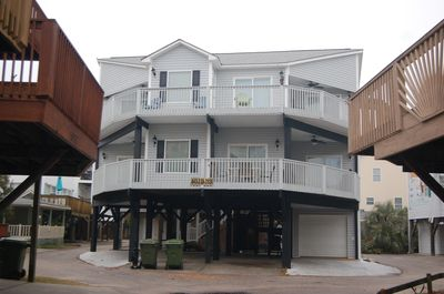 #1023 Ocean view from all rooms. Sleeps up to 18. All rooms access deck.