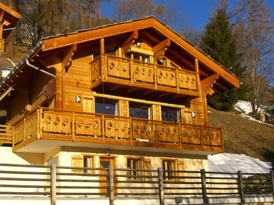 Photo for Luxury Self Catering Chalet with Panoramic Views