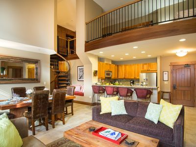 Photo for 2 Bedrooms w/ Large Loft + 2.5 Baths in Village at Northstar - Sleeps 8