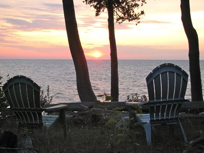 Photo for Little House on the Bay---Door County Retro Style/ Comfortable--