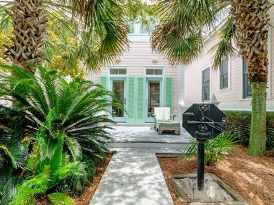 Photo for West Indian, 1BR, 1BA Carriage in Seaside---steps to the Private Beach and Town Center!