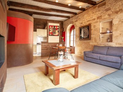 Photo for Quiet medieval loft in the heart of Sarlat