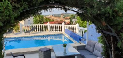 Photo for Beautiful villa with private pool and exceptional views ideal for families.