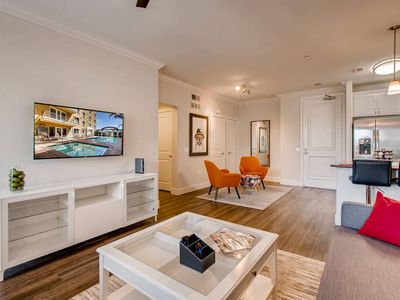 Photo for (FV3) NEW Amazing San Diego Dual Master 2 Bedroom with Pool, Gym, & Clubroom Across From Fashion Valley Mall! (10 minutes from Downtown)