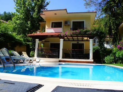 Photo for Villa Gocek Papatya 3 Bedrooms Villa. Private holiday villa very closed to inlice beach.