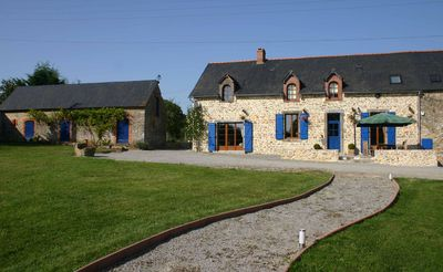 Photo for Beautiful farmhouse B&B in the peaceful French countryside not far from Le Mans