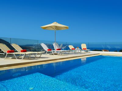 Photo for Villa With Private Pool, Stunning Sea And Mountain Views, 3 double en-suite beds