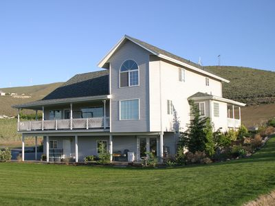 Photo for Custom 4 BR  Incredible View of the Yakima Valley Wine/Hops Fly Fishing Sleeps 8