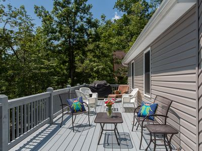 Photo for Newly-built in Massanutten Resort Prime Area, Pool Table, Six Smart TVs, Gas FP