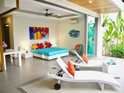 Photo for Rawai Beautiful 2 bedrooms private villa