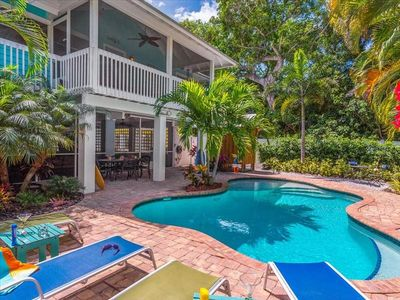 Dream Catcher- Key West style beach house on North end.