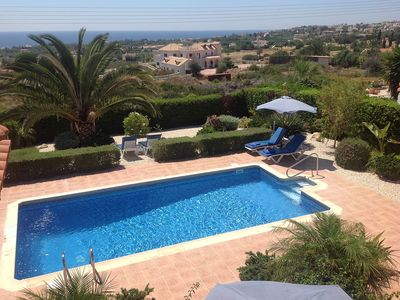 Photo for Detached Bungalow Villa with Private Pool and Superb Sea Views
