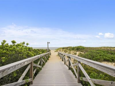 Photo for FREE ACTIVITIES!! OCEANFRONT 4 bedroom, 2.5 bath townhouse situated behind the dunes