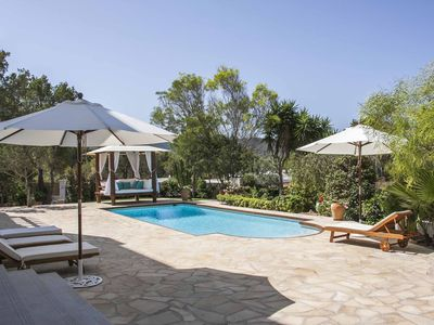 Photo for Brand new luxury villa with seaview and walking distance of cala tarida