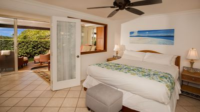 THE MASTER BEDROOM ALSO HAS ACCESS TO THE DAY ROOM