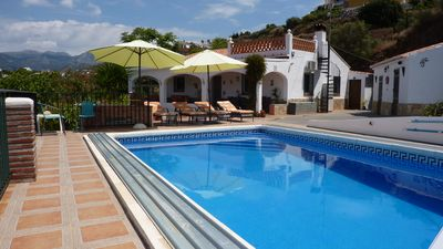 Photo for Villa & Pool, Spectacular Sea & Mountain Views,10min from coast. Special offers!
