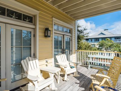 Photo for Executive Access Home! Beach District - Gulf Views & Steps from Beach Club