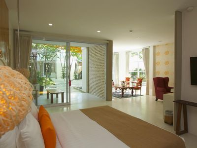 Photo for Deluxe Suite - Luxury resort on the coast of Phangan island