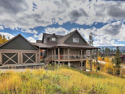 Photo for Fraser Cabin w/ Mountain Views - Walk to Main St!