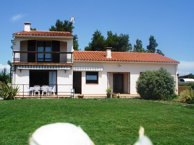 Photo for Air-conditioned villa 135m2 10 minutes from the beaches in a quiet area with garden