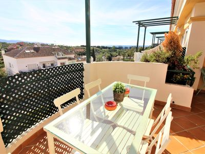 Photo for Beautiful 2 bedroom apartment close to Puerto Banus with panoramic views