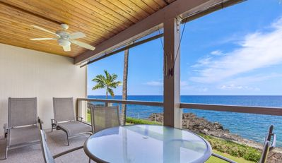 Photo for Aloha Condos, Keauhou Kona Surf and Racquet Club, Condo 2-202, Oceanfront