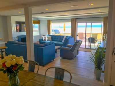 Photo for Oceanfront Luxury Upgraded 3 bdr/2 bth, a/c, fireplace & patio w/bbq,