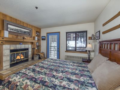 Photo for Super Comfy Condo, winter hot tub, free wifi, upgraded, sleeps 2