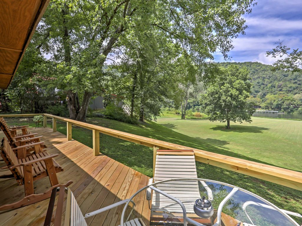 New 3br 39 around the bend 39 cabin on white river mountain for White river cabin rentals arkansas