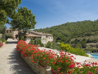 Photo for Authentic 4BR/4BA  Farmhouse in  the Chianti Hills outside Castellini in Chianti