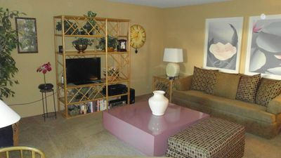 Photo for South Palm Springs Condo Across from Smoke Tree Shopping