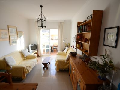 Photo for Bright, clean and quiet south facing 2 bedroom flat for 4 in Nerja