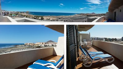 Photo for Modern Oceanfront Penthouse Apartment. Very Spacious. Big Sunbathing Terrace