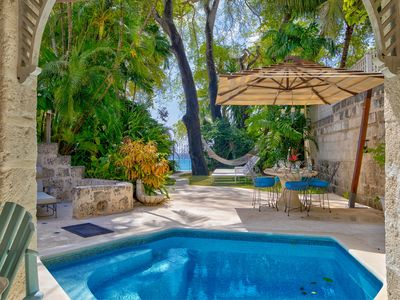 Photo for Beachfront Villa with Plunge Pool - Waverly One