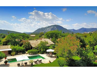 Photo for Casa Roja is a beautiful five bedroom villa offering a genuine, luxurious Mallorca experience