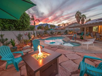 Photo for NEW LISTING! Private home w/pool, spa, fire pit, & gas grill and mountain views