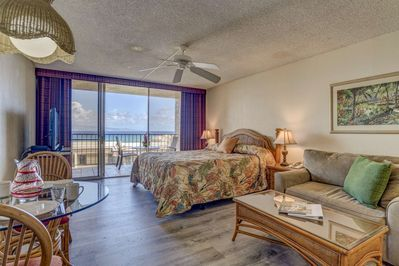 Newly upgraded Royal Kahana studio with wonderful ocean views - located on the 10th floor