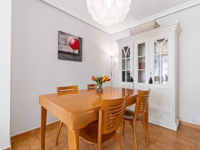 Photo for Nice and spacious apartment in the center of the city but in a quiet street.