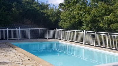 Photo for Apartment T3 sea view with pool Sainte Anne