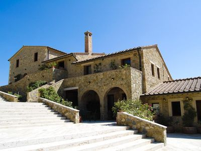 Photo for 10 bedroom Villa, sleeps 20 in Rocca d'Orcia with Pool, Air Con and WiFi