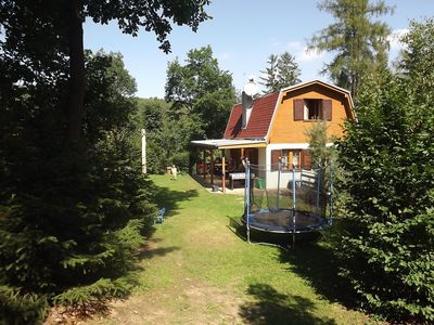 Photo for Cottage Vranov dam with big garden