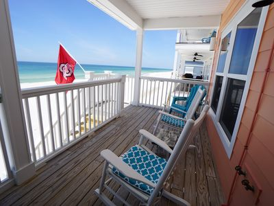 Photo for New Listing! North Cape San Blas, only steps to the water's edge!