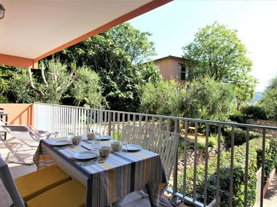 Photo for Nice 2 rooms - Large terrace - Sea view - Darse