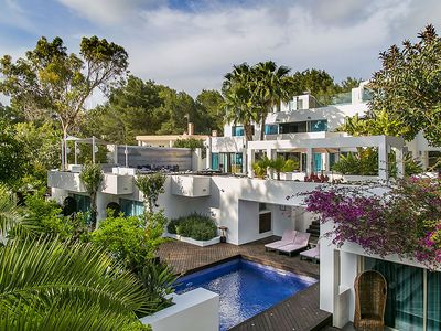 Photo for Luxury Casa Asia, in Ibiza, with 2 private pools, 6 bedrooms, 18 sleeps
