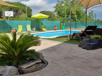 """Photo for OFFER AUGUST!  Family house """"El Olivo- Costa Brava"""" with pool, WIFI"""